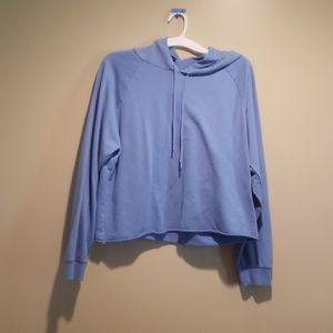 Large Light Blue Wild Fable Loose Hoodie